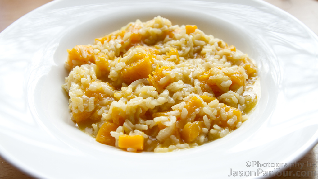 Butternut Squash Risotto Recipe — Dishmaps